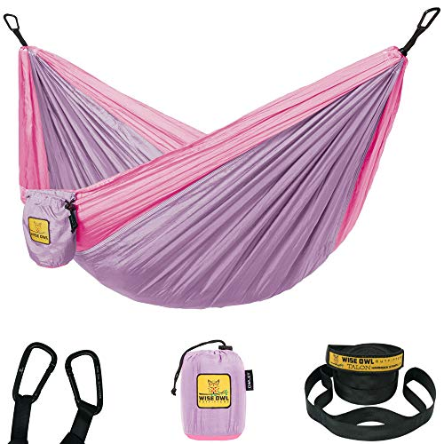 Pink and Lavender Hammock