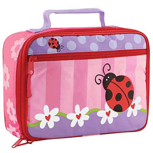 Stephen Joseph SJ570160 Children's Lunch Boxes, Fabric, Ladybug