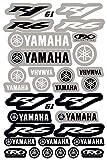 Kit Pegatinas ADESIVI Compatible para Yamaha R1 R6 PATROCINADOR Moto Cross Enduro Casco (61)