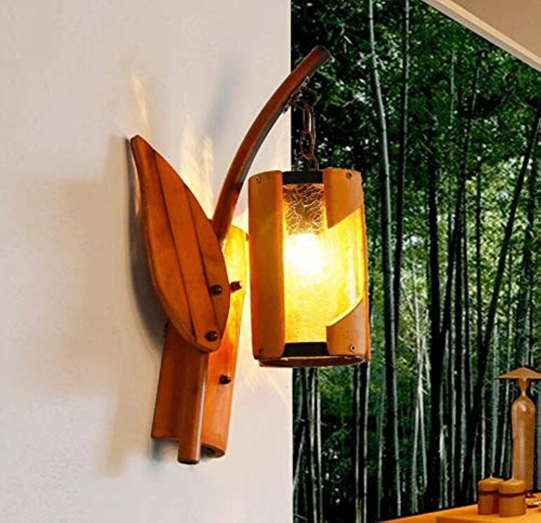 Kreative Persnlichkeit Restaurant Bambus Bambuslampe Antiquitten südstlich der Wand