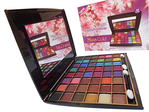 Miss Gold Glamorous Fashion Eyeshadow Pack-48 Color