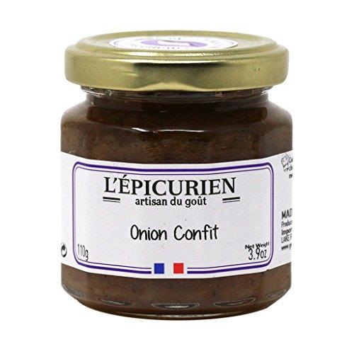 L'Epicurien, Confit d'Oignons, Zwiebelconfit, Zwiebeln eingemacht, 110g