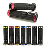 Universal Motorcycle Arrow Rubber Gel Hand Grips For 7/8' 22mm Handlebar Sports Bike Street Bike