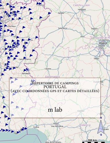 Répertoire de campings  PORTUGAL (avec coordonnées gps et cartes détaillées)