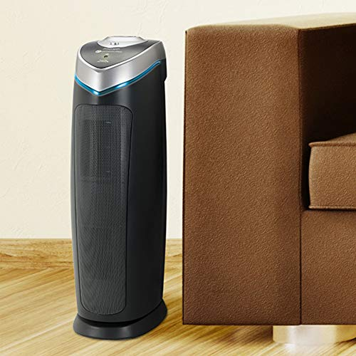Guardian Technologies 4-in-1 Full Room Air Purifier, True HEPA Filter, UVC Sanitizer, Home Air Cleaner Traps Allergens