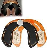 Haoshangzh55 Intelligente Hip Trainer Glutei Lifter Enhancer Pad idoneità Ingranaggio di Addestramento del Rilievo di Massaggio, con Lo SME Micro Impulse Shaft, Ricaricabile