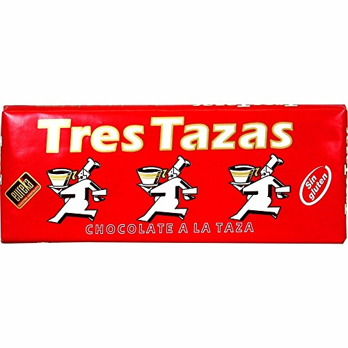 EUREKA chocolate a la taza tres tazas tableta 200 gr