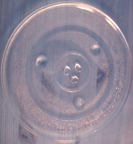 Mikrowellenteller / Drehteller / Glasteller für Mikrowelle # ersetzt Cinex Mikrowellenteller # Durchmesser Ø 31,5 cm / 315 mm # Ersatzteller # Ersatzteil für die Mikrowelle # Ersatz-Drehteller # OHNE Drehring # OHNE Drehkreuz # OHNE Mitnehmer