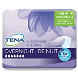 Tena Incontinence Underwear for Women, for Overnight, Xlarge, 10 Count