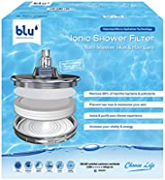 Ionic Shower Filter - Natural Immune System Booster, Rejuvenate Your Hair & Skin - Rain Shower