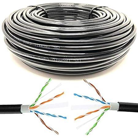 Mr Tronic 100m Ethernet Netzwerk Netzwerkkabel Computer Zubehör