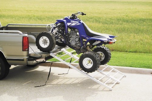 QuadBoss Aluminum ATV Ramp - Bi-Fold - 50in. W x 72in. L 3777 by...