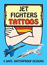 Jet Fighters Tattoos (Dover Tattoos)