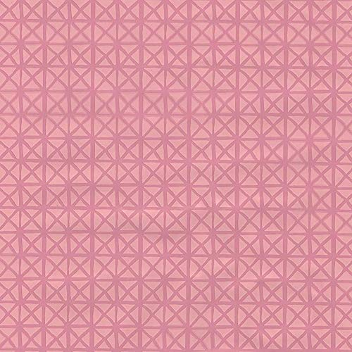 ecosoul 1,4m² Wachstuchtischdecke Andy Pastel pink Schutzdecke Wachstischdecke Leinen Prägung Breite 140cm Länge wählbar (100 cm)