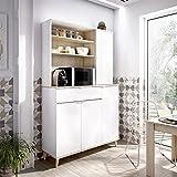 Rimobel Wok Módulo Auxiliar Cocina, Tableros de partículas, Blanco, Normal