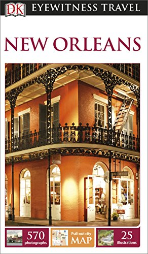 DK Eyewitness Travel Guide New Orleans - Book  of the DK Eyewitness Books