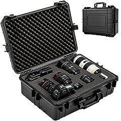 TecTake 402412 Kamerakoffer Universalkoffer Schutzhülle