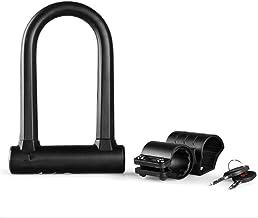 Fietsslot Fietsslot Motorfiets Wire Lock Fiets Anti-diefstal U-vormige Lock MTB Road Bike Lock Fietsaccessoires Fietsketting
