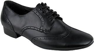 DanceNwear Very Fine Shoes Men's Standard & Smooth Spectator Swing Ballroom Shoes