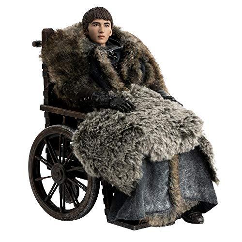 Figura Bran Stark 29 cm. Juego de Tronos. ThreeZero. Season 8. 1:6.