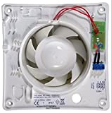 Airvent 434399 Low Voltage Axial Extractor Fan & Transformer Kit (Timer Model) 100mm 4 Inch SELV 12V. Suitable for use within Zone 1