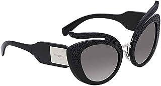 7e275fec4c Miu Miu 0MU04TS VW35O0 53 Gafas de Sol, Negro (Black/Grey Silver)