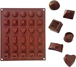 XIAOJIE 1/2Pcs Silicone Mold for Chocolate Jelly Candy Making DIY Baking Tool 1pc