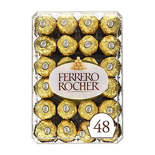 Ferrero Rocher T48 Diamond Box, 600 Grams