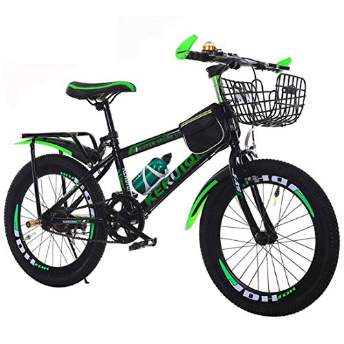 MUYU Volwassen Kids Bike 20 Inch (24 Inch) Zithoogte Verstelbare Single Speed Mountainbike