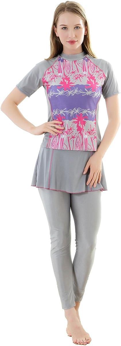 CaptainSwim Women's Short Sleeve Flower Dealing full price reduction Islamic Muslim M Burkini 2021new shipping free shipping