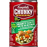 Campbell's Chunky Healthy RequestHearty Italian-Style Wedding with Meatballs and Spinach Soup,...