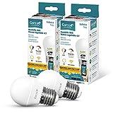 Garza ® Smarthome - Pack 2 Bombillas LED Esférica Intelegente Wifi E27, luz...