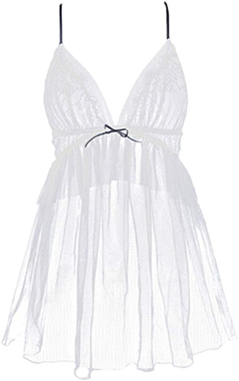 Pajamas Sling Nightdress Transparent Adult Eredic Lingerie Halter
