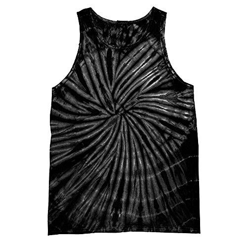 Colortone - Camiseta sin Mangas con Efecto teñido para Mujer