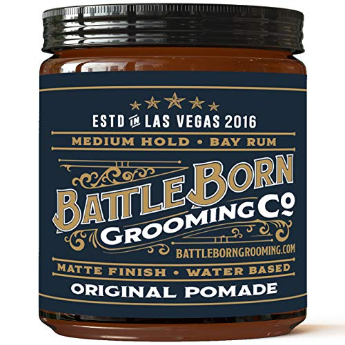 pomade by battle born grooming co
