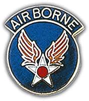 "U.S. AIR FORCE, AIRBORNE ARMY AIRCORP AAF - Original Artwork, Expertly Designed PIN - 1"""