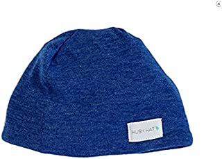 Hush Baby Hat with Softsound Technology and Medical Grade Sound Absorbing Foam, Cobalt Blue/Medium