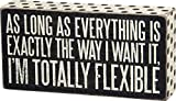 Primitives by Kathy 27260 Polka Dot Trimmed Box Sign, 8 x 4-Inches, Totally Flexible