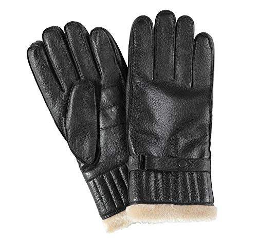 Barbour Leather Utility Glove Col.BK11 TG M