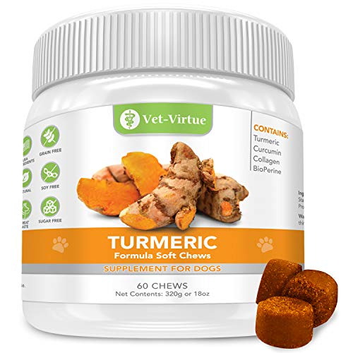 Top 10 best selling list for high quality organic supplement turmeric curcumin for dogs