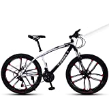 Bicicleta para NiñOs Bicicleta De MontañA, 24 Pulgadas, Bicicleta para Adultos, Bicicleta para NiñOs Y NiñAs Marco...