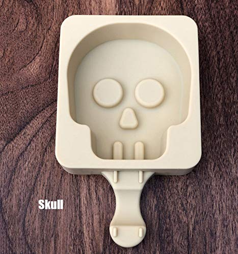 XUAILI Popsicle Ice Mold Maker Set,DIY Frozen Ice Cream Kids and Adults Best for Party Indoor and Outdoor,D