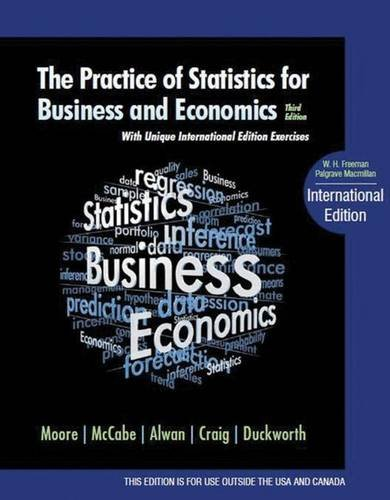 Price comparison product image Practice of Statistics for Business and Economics