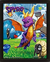 Poster 3D Spyro the Dragon Academia Characters Mosaic, Multicolor, 28, 7 x 23, 5 x 4, 5 cm
