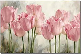 DIY 5D Diamond Painting Kits for Adults, Diamonds Kits Diamonds Embroidery by Numbers, Full Drill Diamond Art Kits for Home Wall Decor - Flowers(19.7X13.8inch)