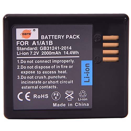 DSTE A1/A1B Ricaricabile Li-ion Batteria Compatibile per Arlo Pro Battery,Arlo Pro 2 Battery(VMA4400),Arlo Pro telecamera di sicurezza