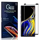 Tempered Glass Screen Protector Compatible with Galaxy Note 9, UNEXTATI Screen Protector Film, HD Clear Tempered Glass Film for Samsung Galaxy Note 9, 3 Pack