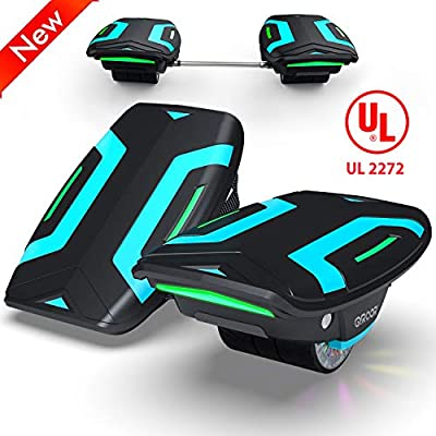 "Magic hover Electric Roller Skate Hover Board,350W Dual Motor Self Balancing Scooter for Kids and Adults,Hovershoes Drift X1,3.5"" Freeline Skate,12km/h Max Speed Hoverboard"