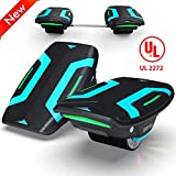 Magic hover Electric Roller Skate Hover Board,350W Dual Motor Self Balancing Scooter for Kids and Adults,Hovershoes Drift X1,3.5' Freeline Skate,12km/h Max Speed Hoverboard