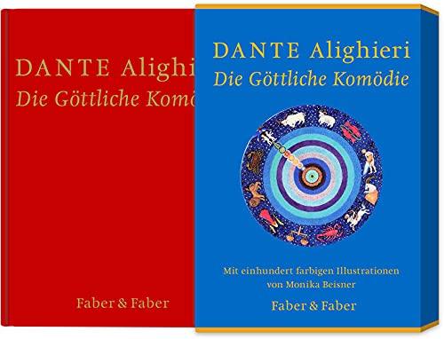 Die Göttliche Komödie. Mit 100 farbigen Illustrationen von Monika Beisner: limitierte Vorzugsausgabe